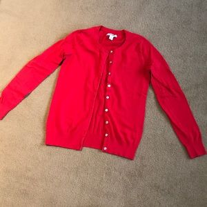Red cardigan - OLD NAVY